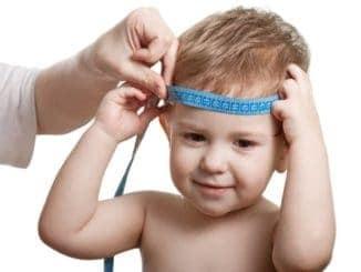 измерение размера головы ребенка
