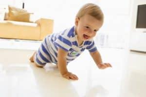 физическая активность ребенка в 7 месяцев