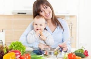 Общие принципы питания при грудном вскармливании