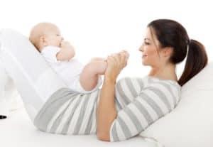 Определяем готовность ребенка к умению сидеть
