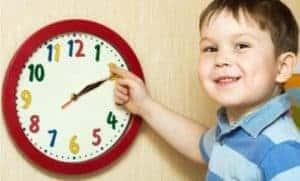 Учим понятие времени в игровой форме