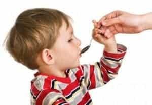 Первая помощь при лечении детского кашля