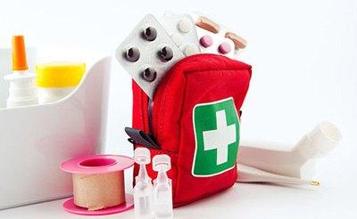Перечень содержимого аптечки для новорожденного