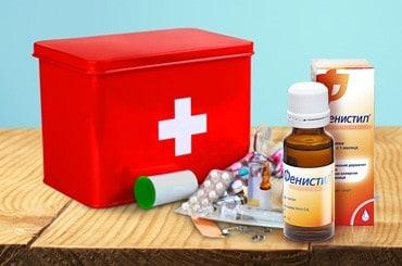 Хранение, дозировка и применение Фенистила для детей в каплях