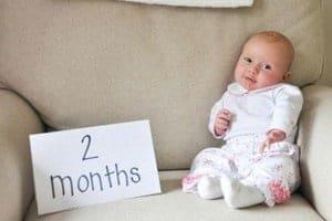 Развитие ребенка в два месяца