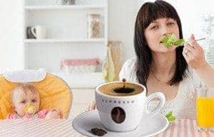 Безопасность кофе в период грудного вскармливания