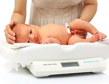 Недобор веса у малыша - как отследить