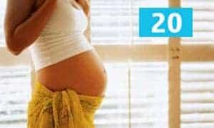 20-я неделя беременности женщины