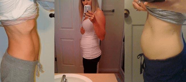 Фото живота на 12 неделе беременности
