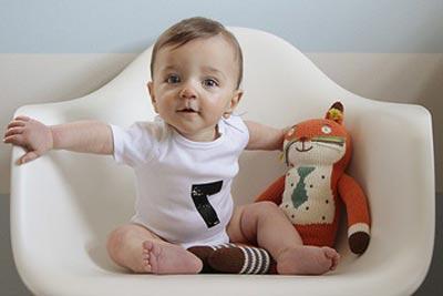 Занятия с малышом в 4 месяца