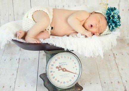 Номы веса детей до одного года