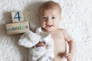 Развитие в 4 месяца у детей
