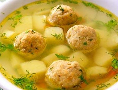 Рецепт бульона с фрикадельками