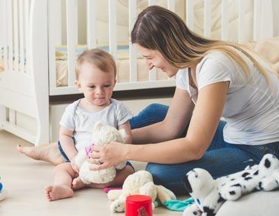 Игры с ребенком в год и месяц