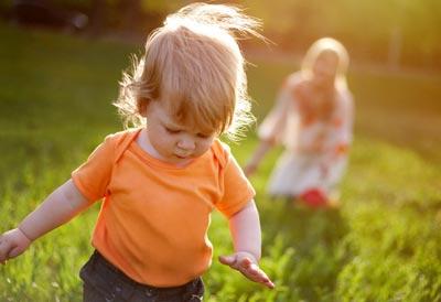 Умения ребенка в 1,1 год