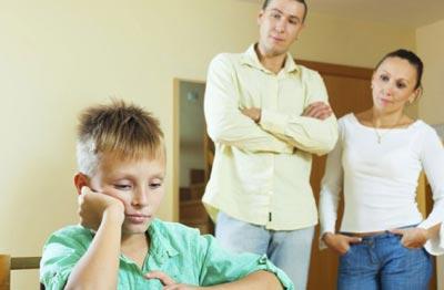Родители не должны противоречить друг другу