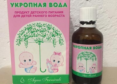 Укропная вода для новорожденных