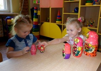 Развивающие игры с трехлетним