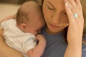 Депрессивное состояние после рождения ребенка