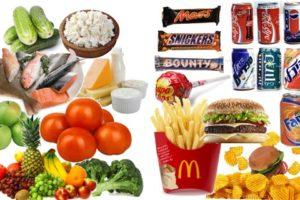 Список вредных для детского организма продуктов
