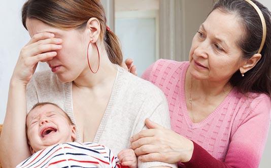 Стрессовое расстройство после родов у женщин