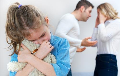 Как развод родителей влияет на детей дошкольников
