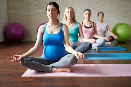 Физические упражнения для беременных