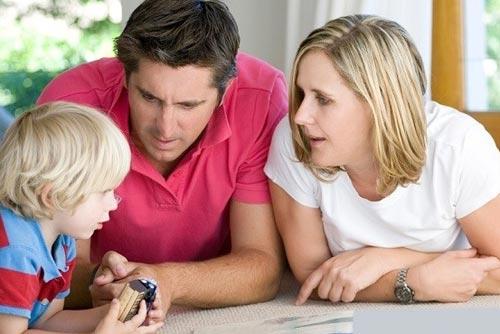 Забота о детях при разводе