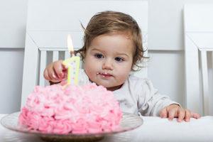 Рост и вес ребенка в 1 год