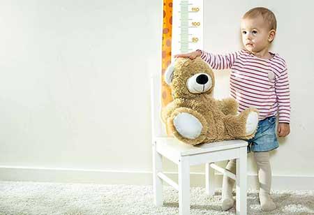 Рост и вес ребенка в 1 год и 18 месяцев