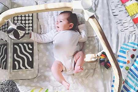 Развитие четырёхмесячного малыша